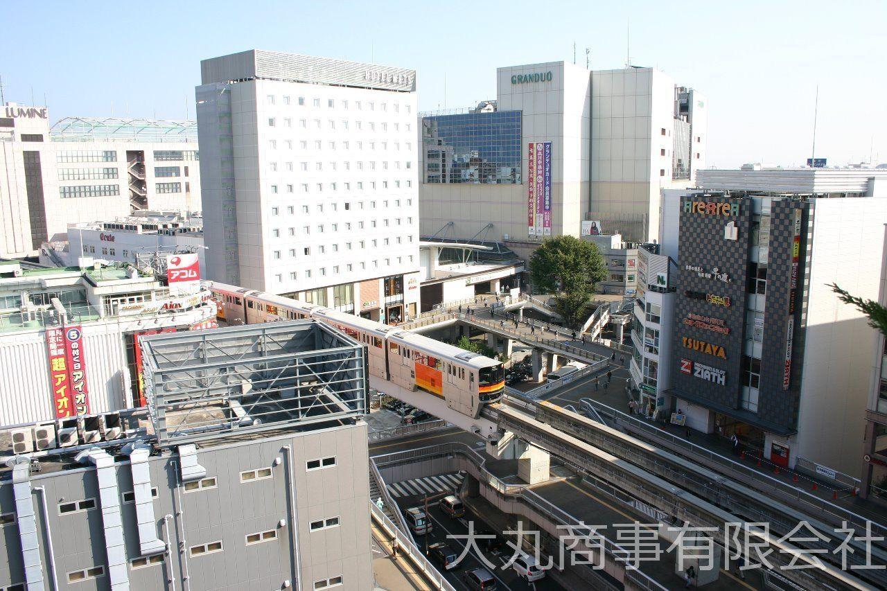 商業施設の揃う便利な立川駅