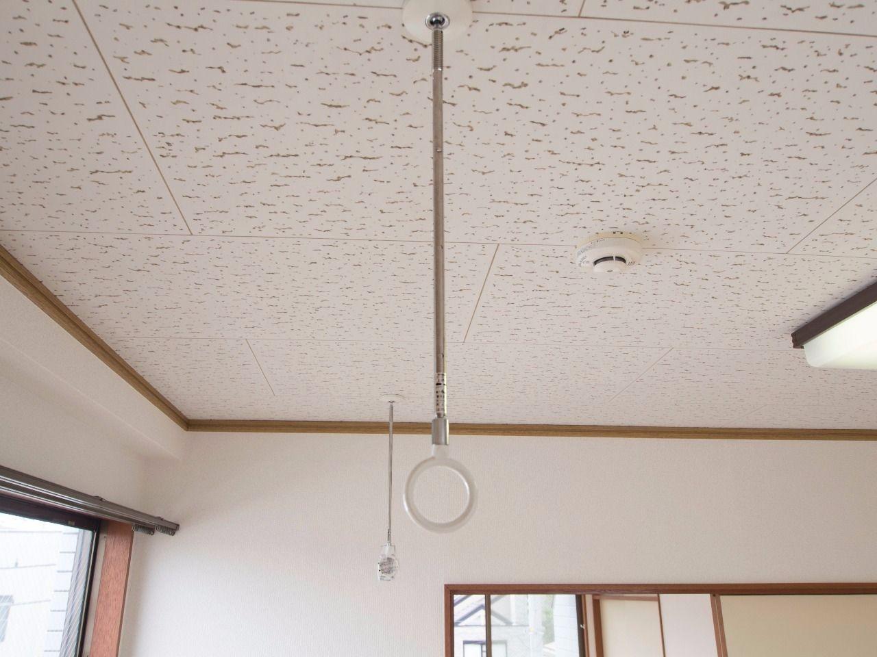 川口技研のホスクリーンで室内物干しができます