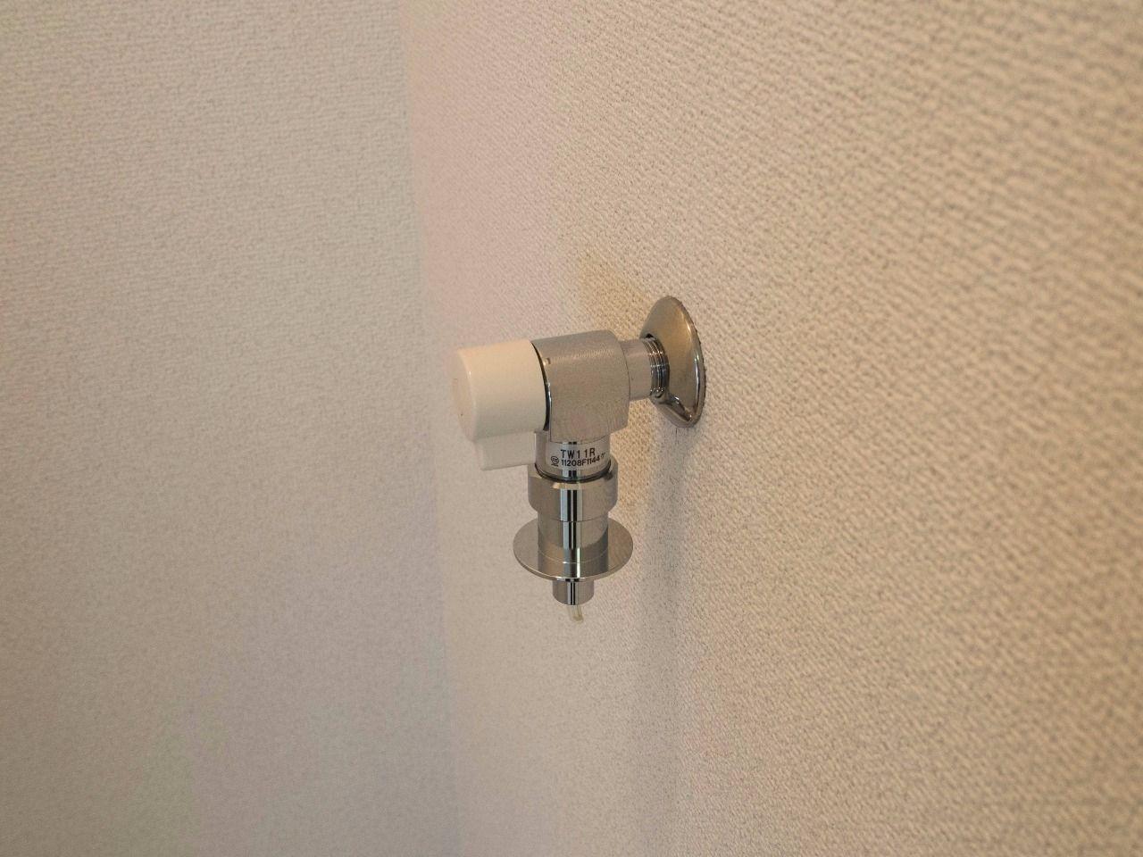 洗濯ホースの取付が簡単な水栓