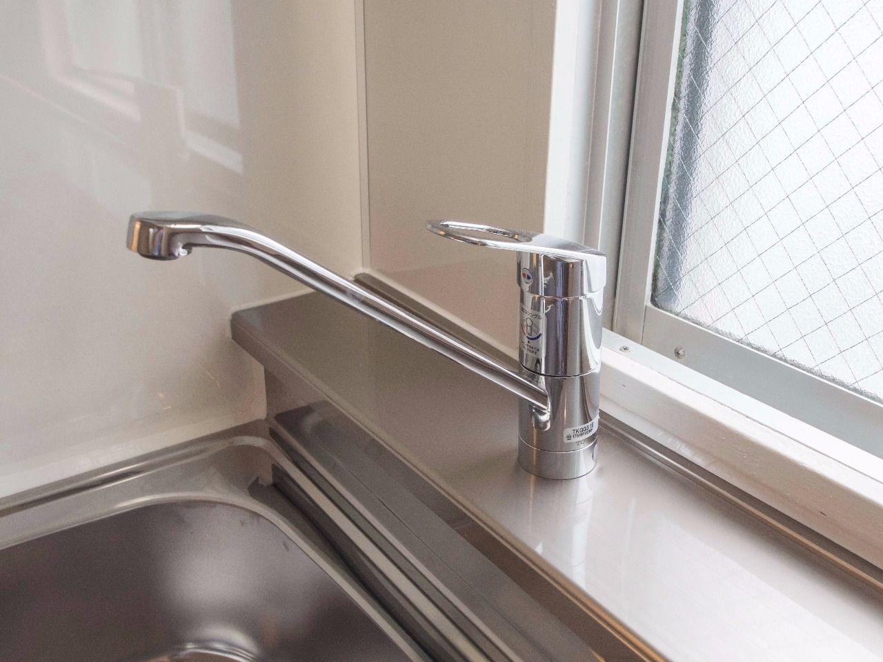 水温・水量の調節が簡単な水栓