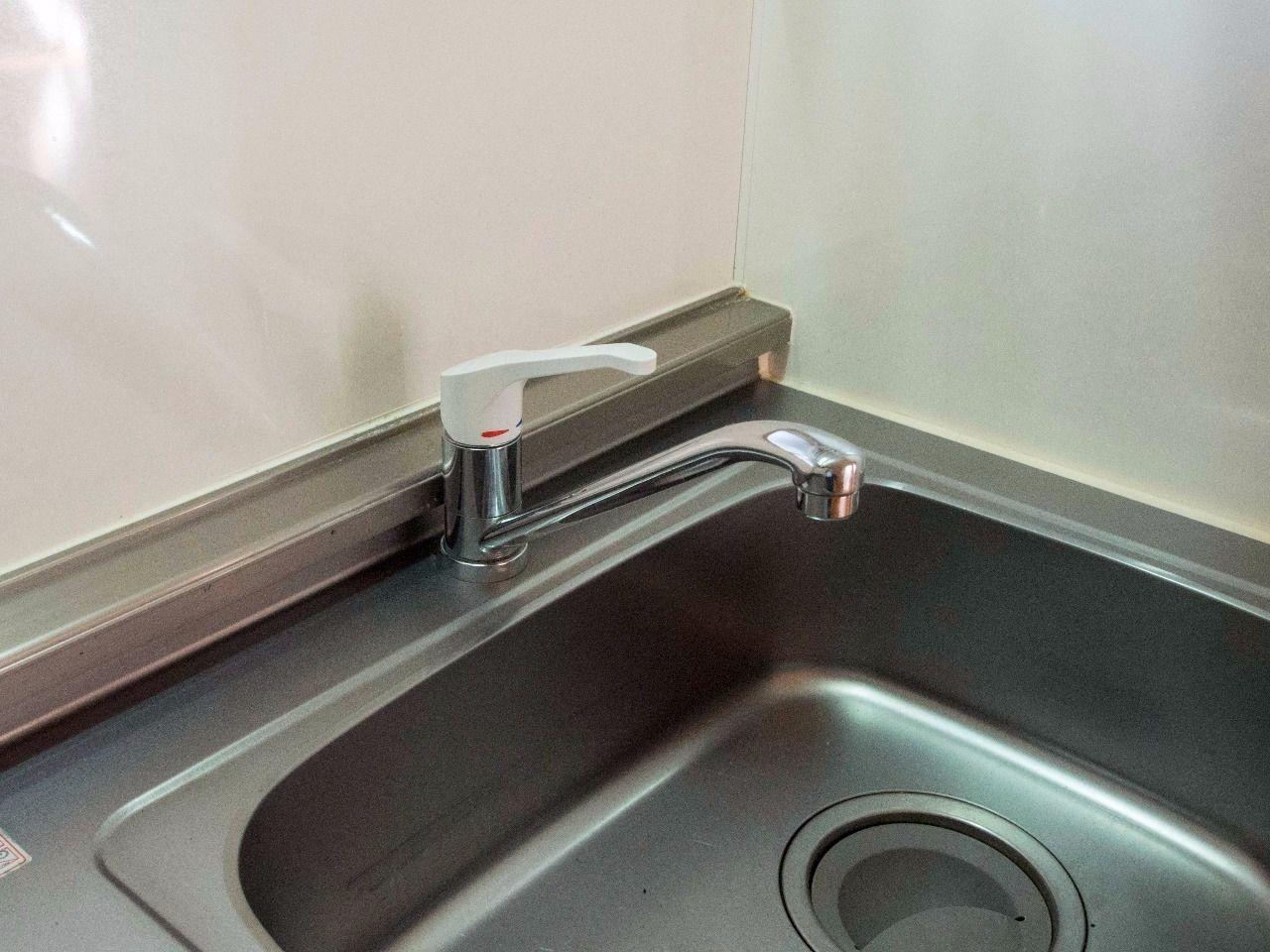 水温・水量の調節が容易なワンレバー式水栓
