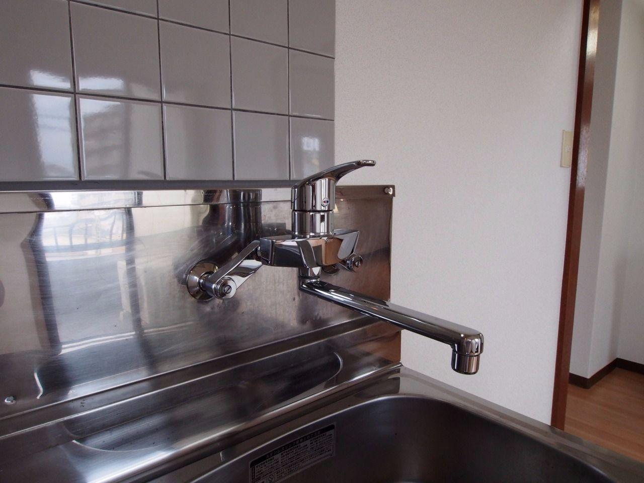 水量・水温の調節がラクな水栓