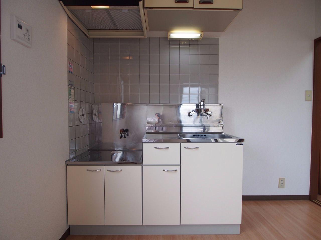 ガスコンロ(都市ガス)対応キッチン