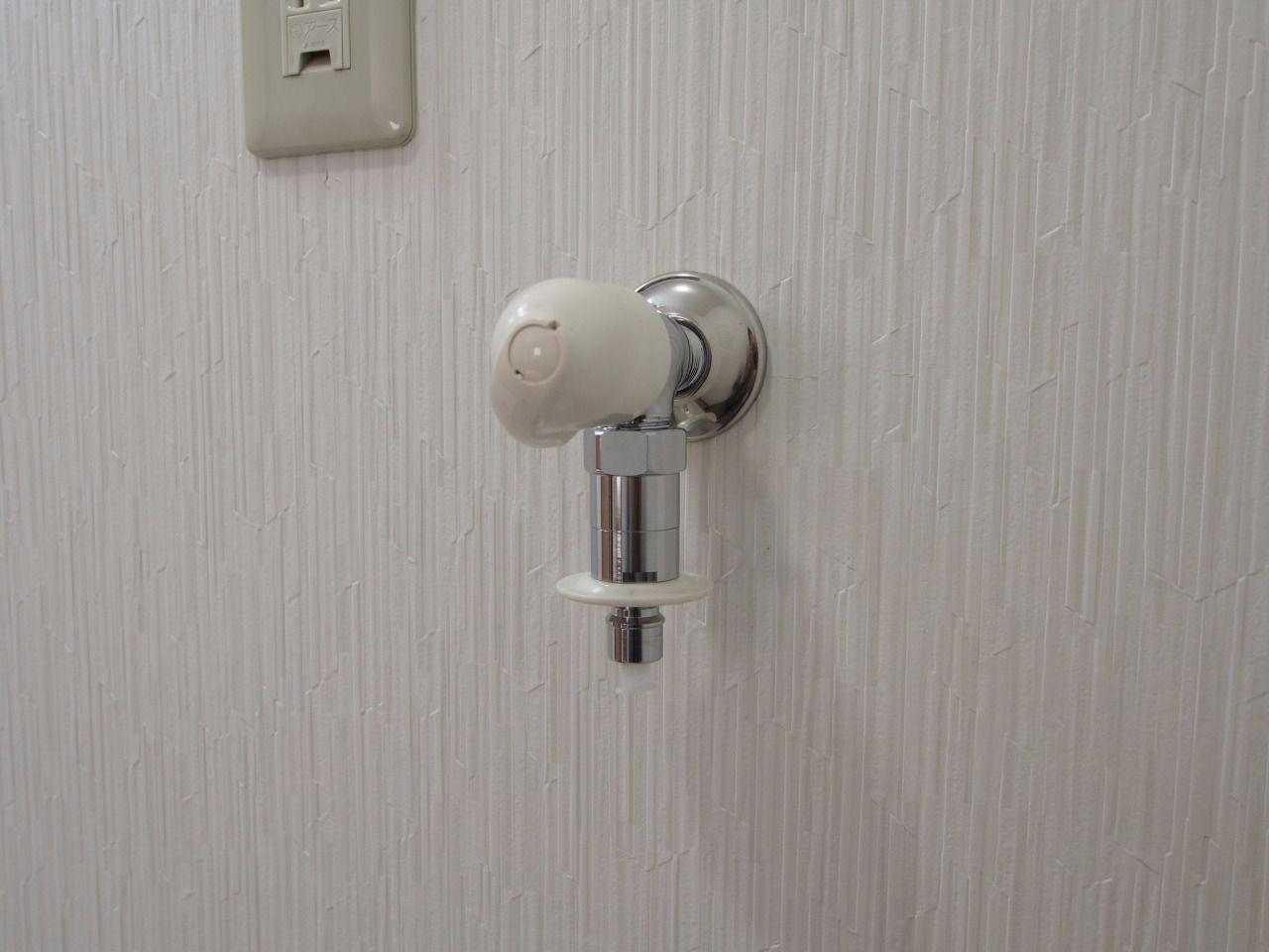 ワンタッチ式洗濯水栓