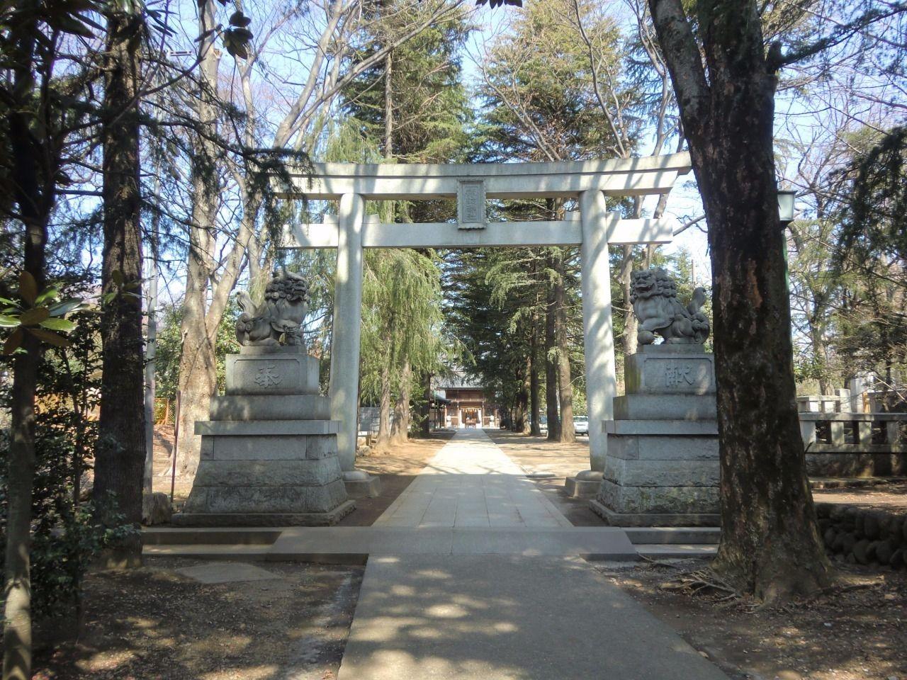 夏には例大祭で盛り上がる地域の神社