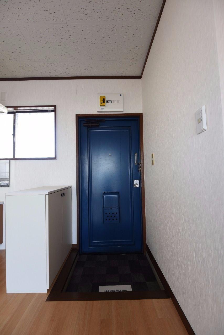 十分な広さの玄関