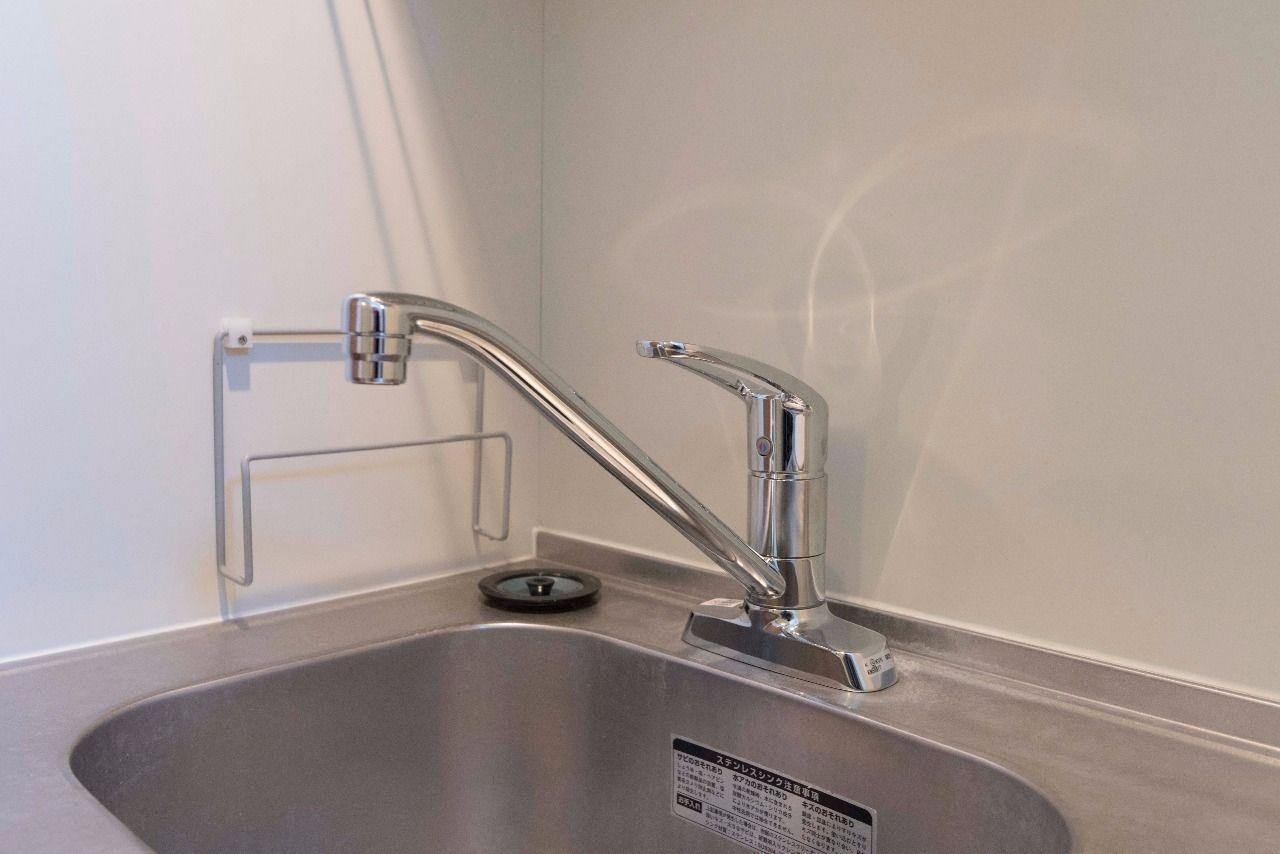 水量・水温の調整が簡単な水栓