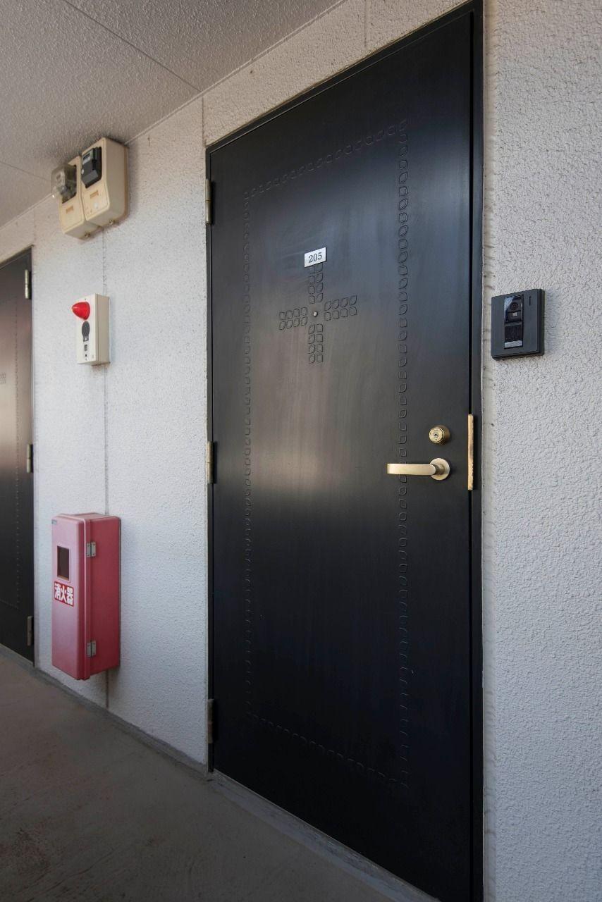 高級感のある扉