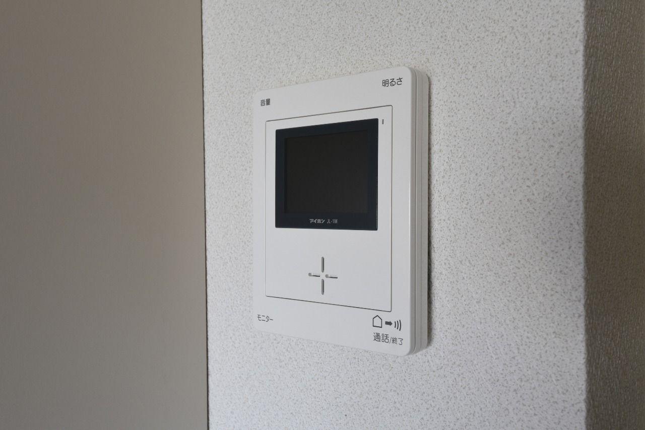 モニター付インターホン(室内側)