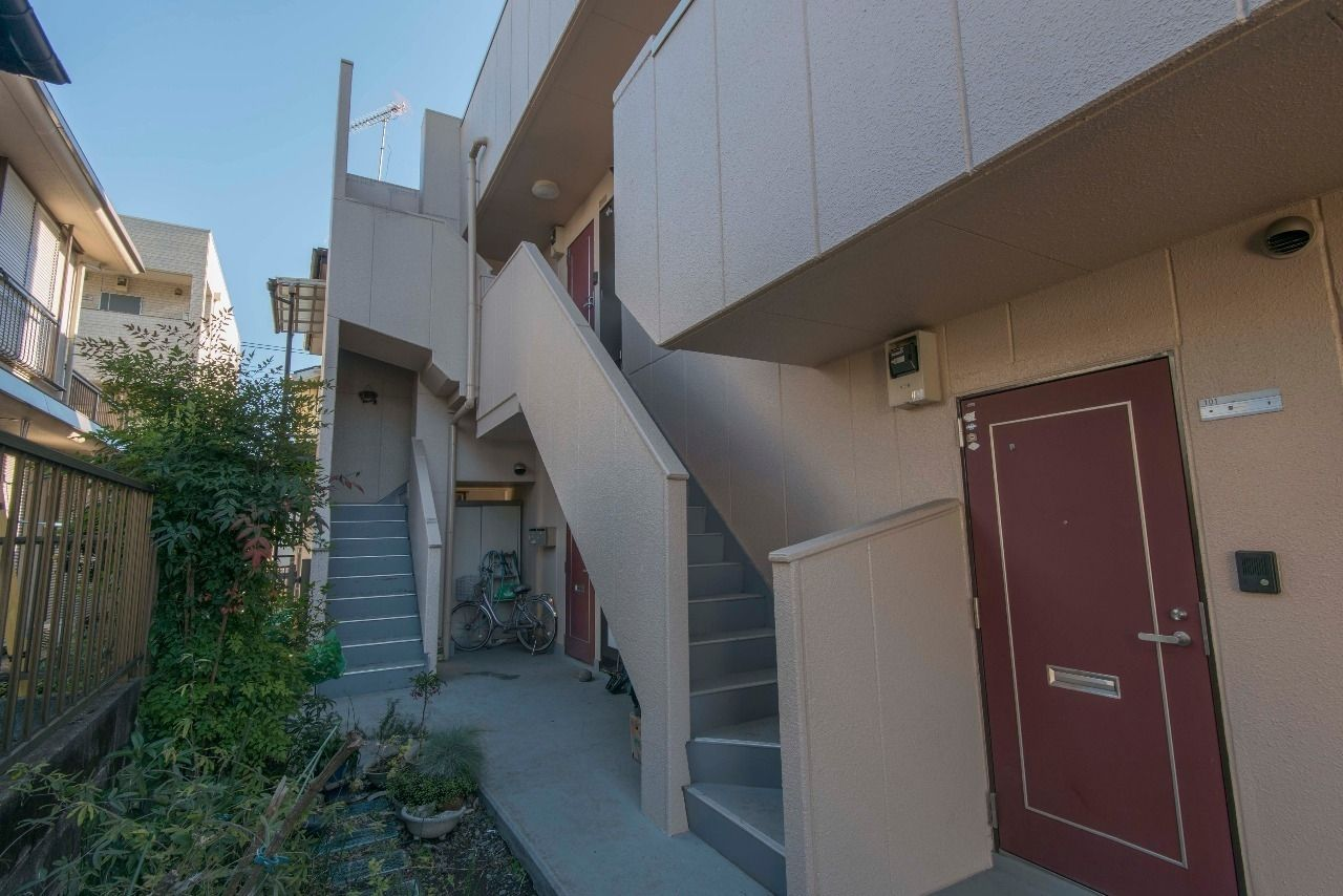 各戸専用階段の面白い構造