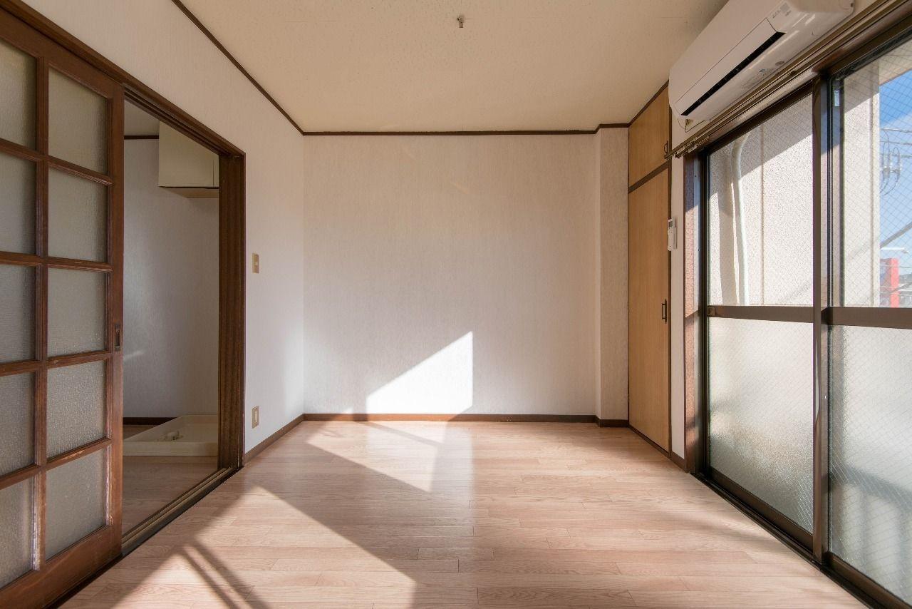家具の配置がしやすい洋室