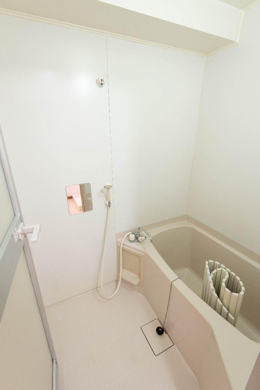 落し込みの浴室