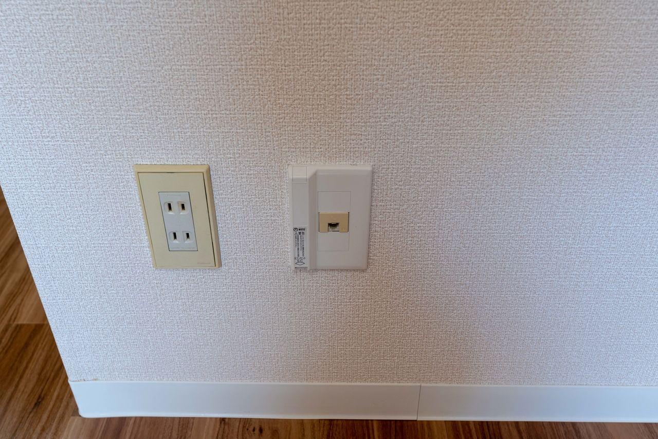 CATVだけでなく光回線も利用可能