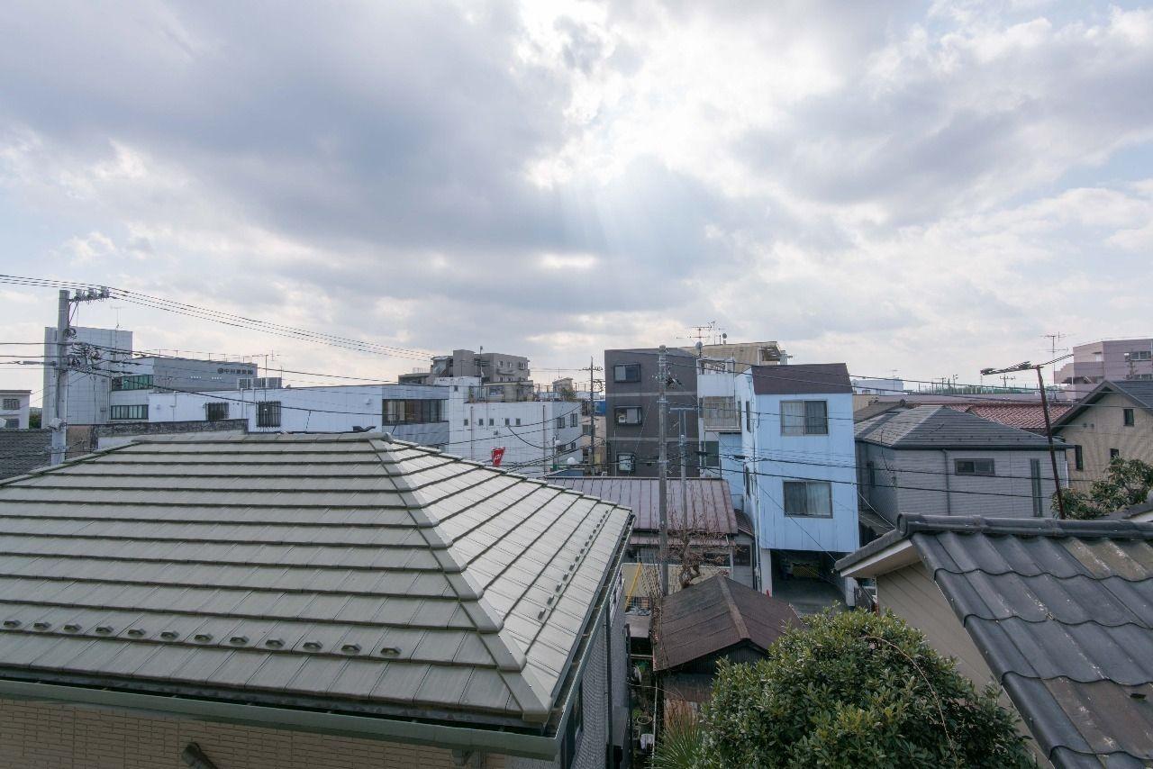 バルコニーからの眺望(南方向)