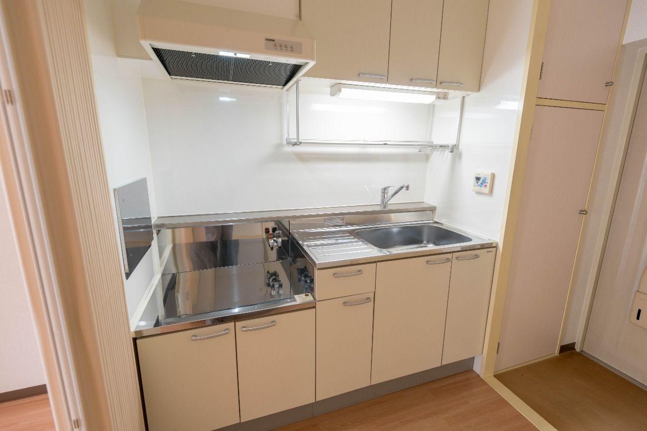 2口ガスコンロ対応キッチン