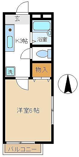 立川市富士見町の単身向けアパート