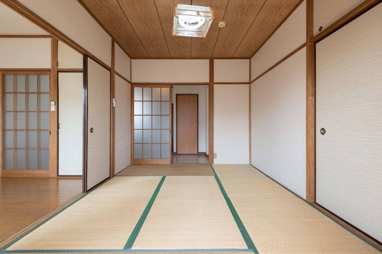 現在の畳は入居直前に表替えします