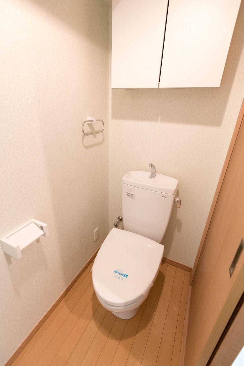暖房便座付のトイレ