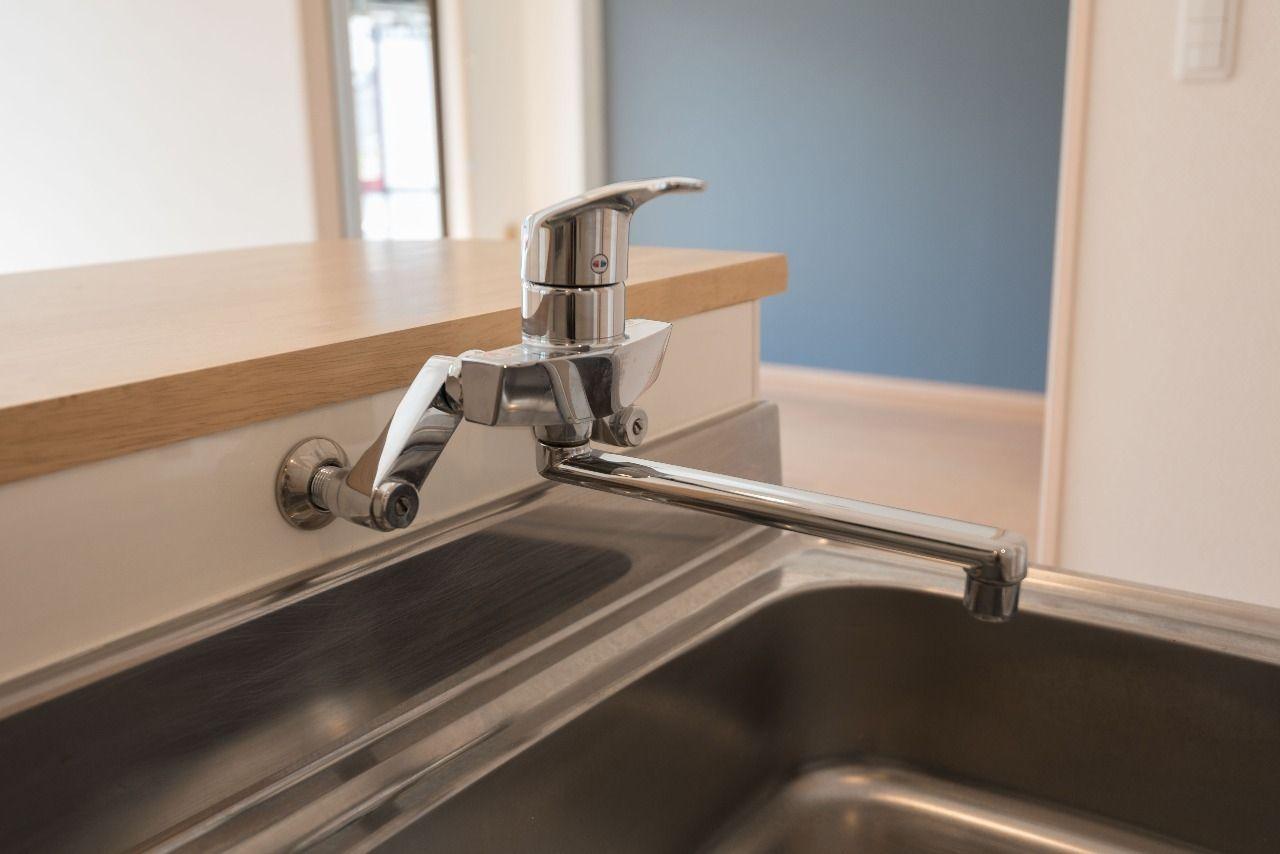 ワンレバー式で使い勝手のよい水栓