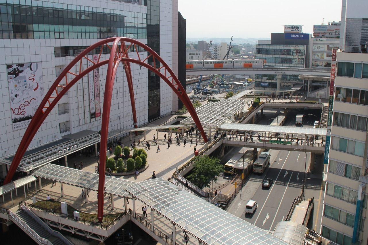 開発が続く立川駅北口