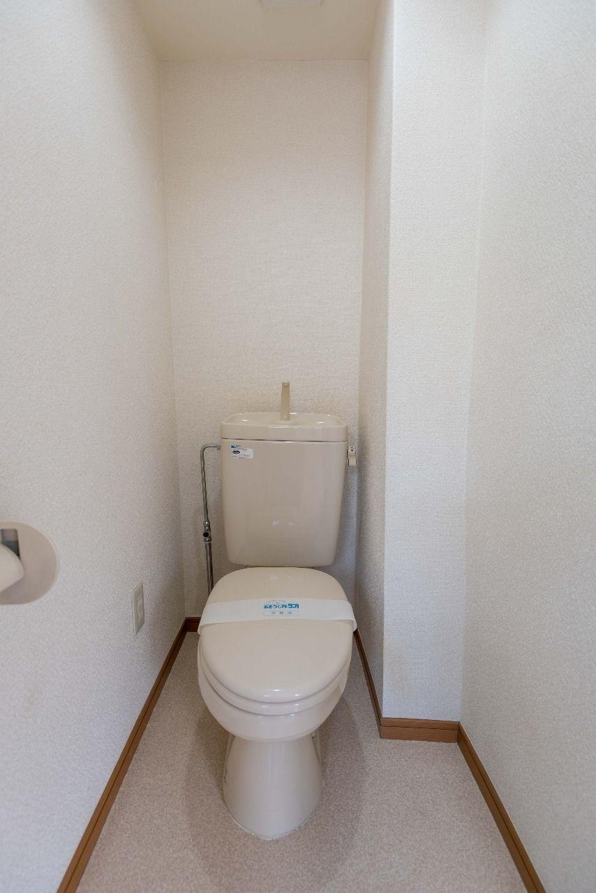 温水洗浄便座の取付ができるコンセント付