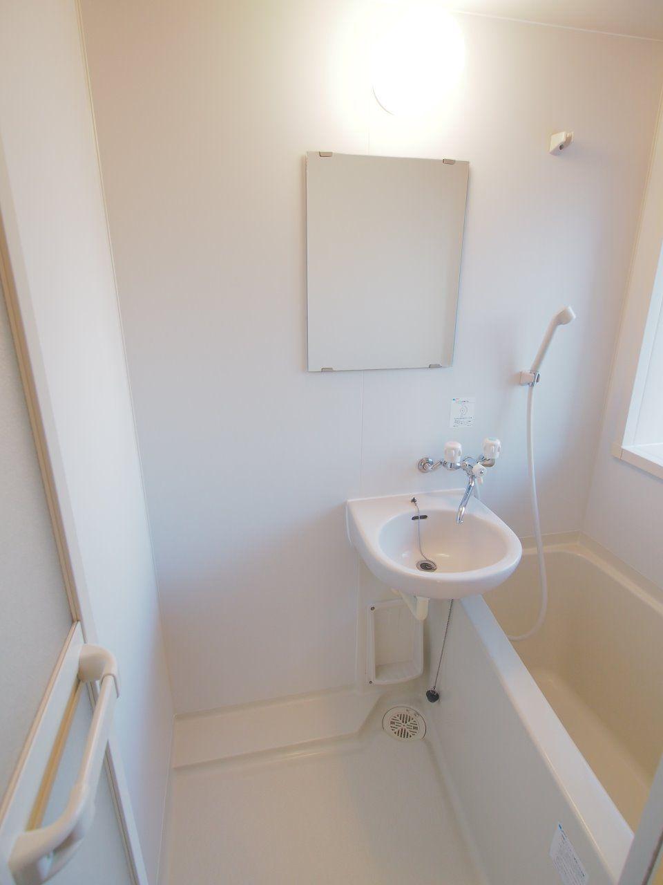 窓があり、換気がしやすい浴室