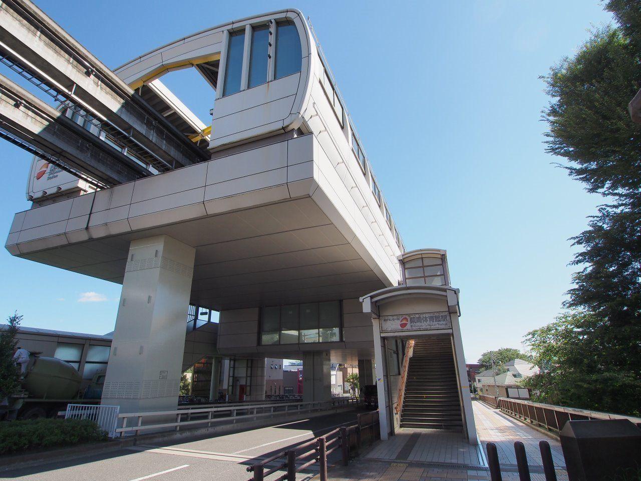 西武線・JR・京王線・小田急線に接続する多摩都市モノレールの駅