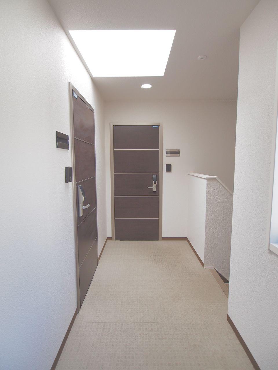 内廊下型の共用廊下