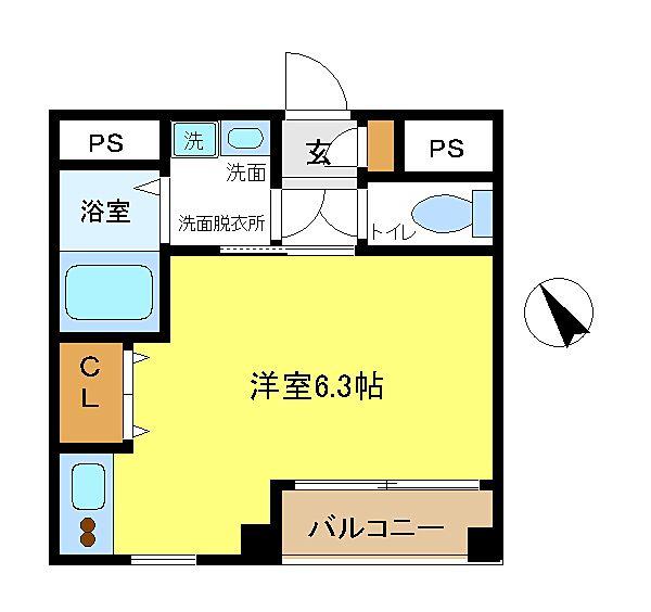 立川駅から徒歩6分のオートロック付マンション