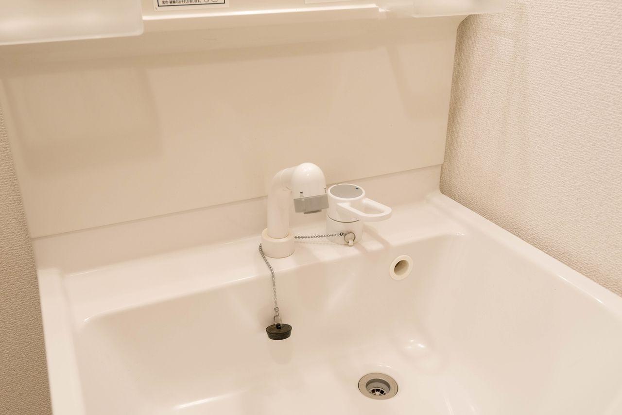 シャワー付の洗面水栓