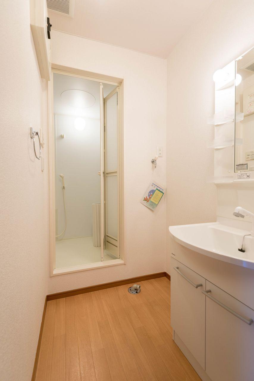 人気の独立洗面台のある洗面所