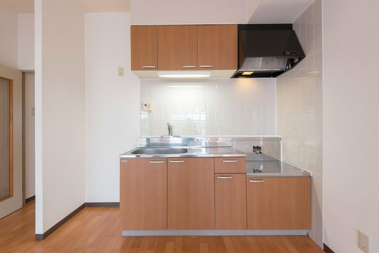 ガスコンロ対応(都市ガス)のキッチン