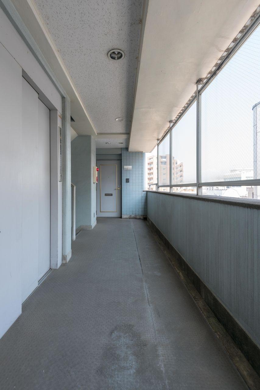 5階の共用廊下