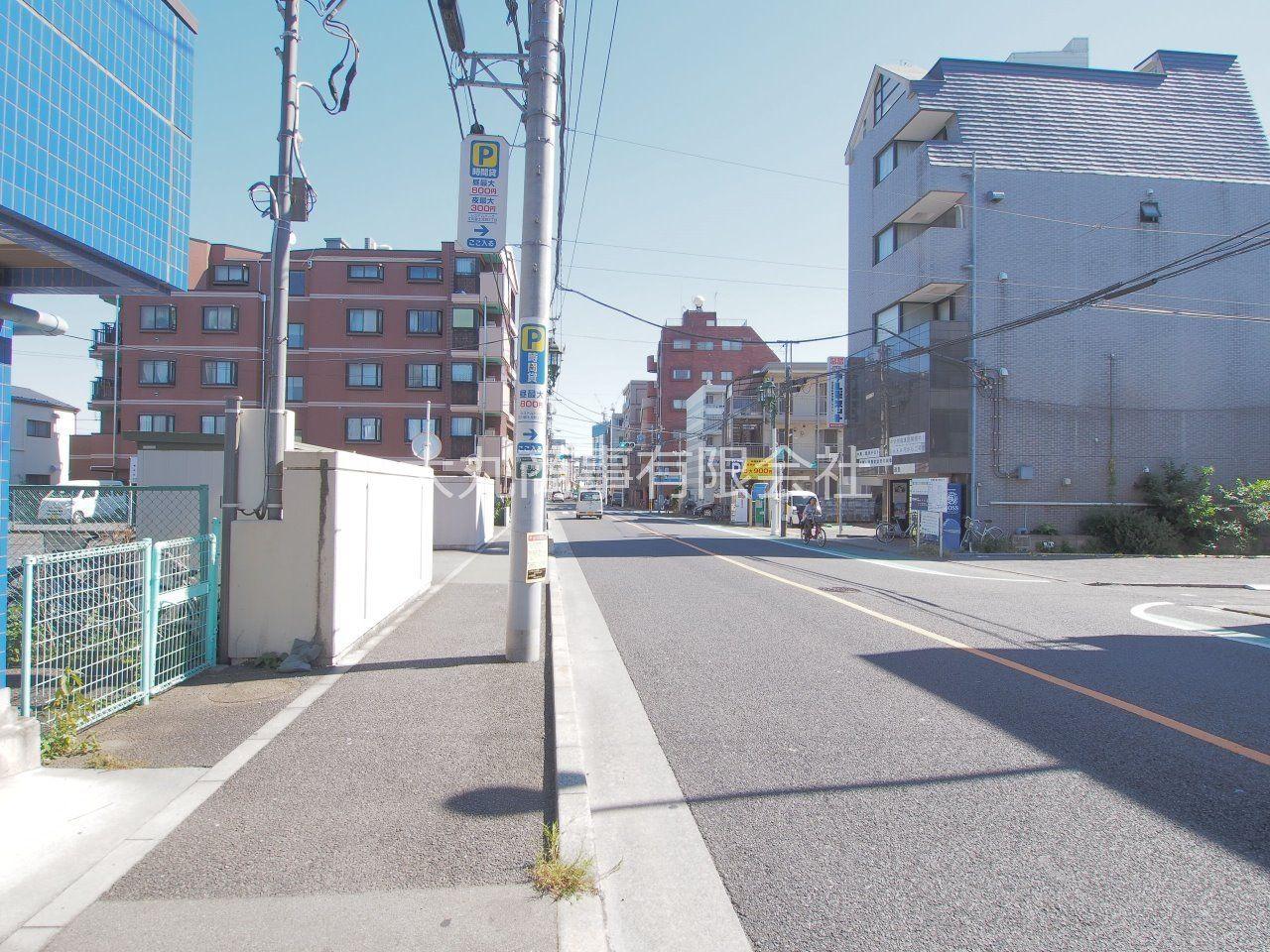 建物前から立川駅方面