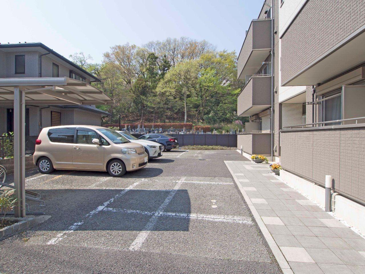 建物敷地内に駐車場あり