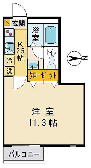 JR中央線 日野駅 徒歩3分の便利な立地