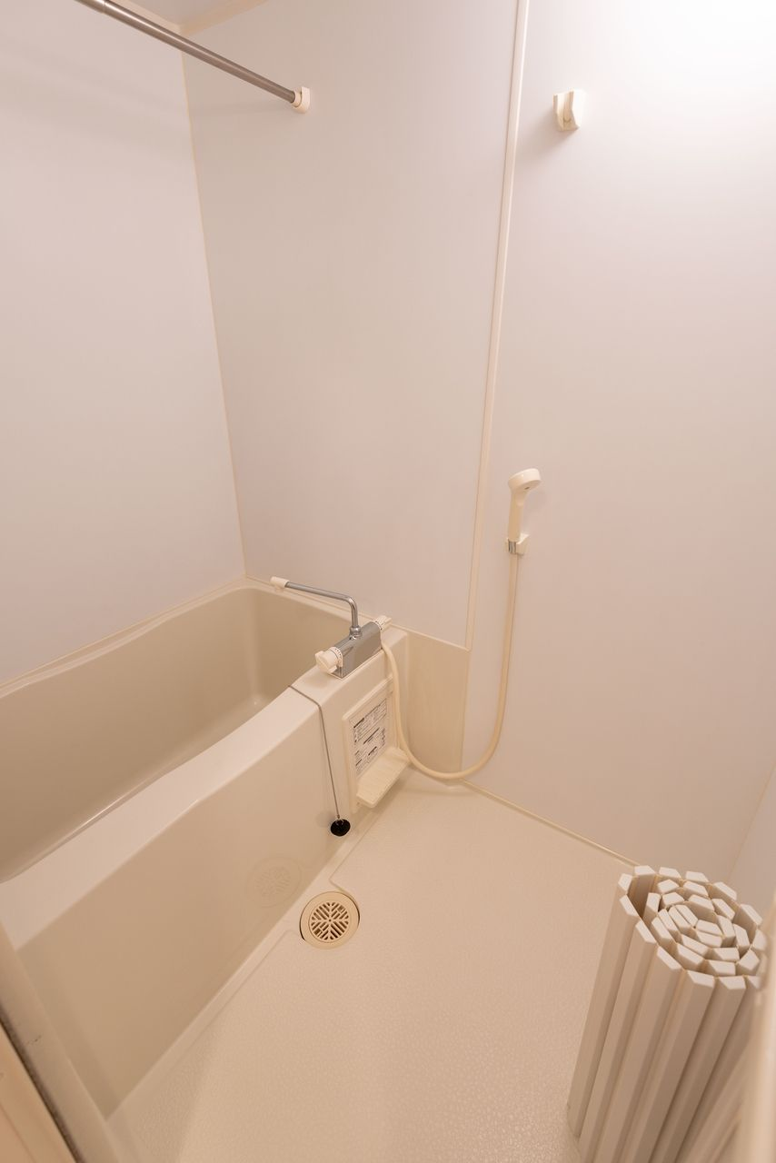 洗い場の広さはバストイレ別ならでは
