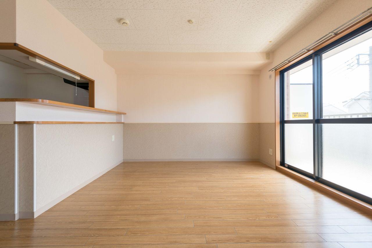 床材はペットに優しいクッションフロア