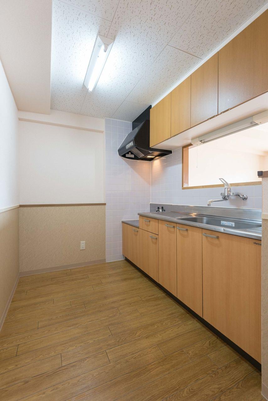冷蔵庫・食器棚が設置可能