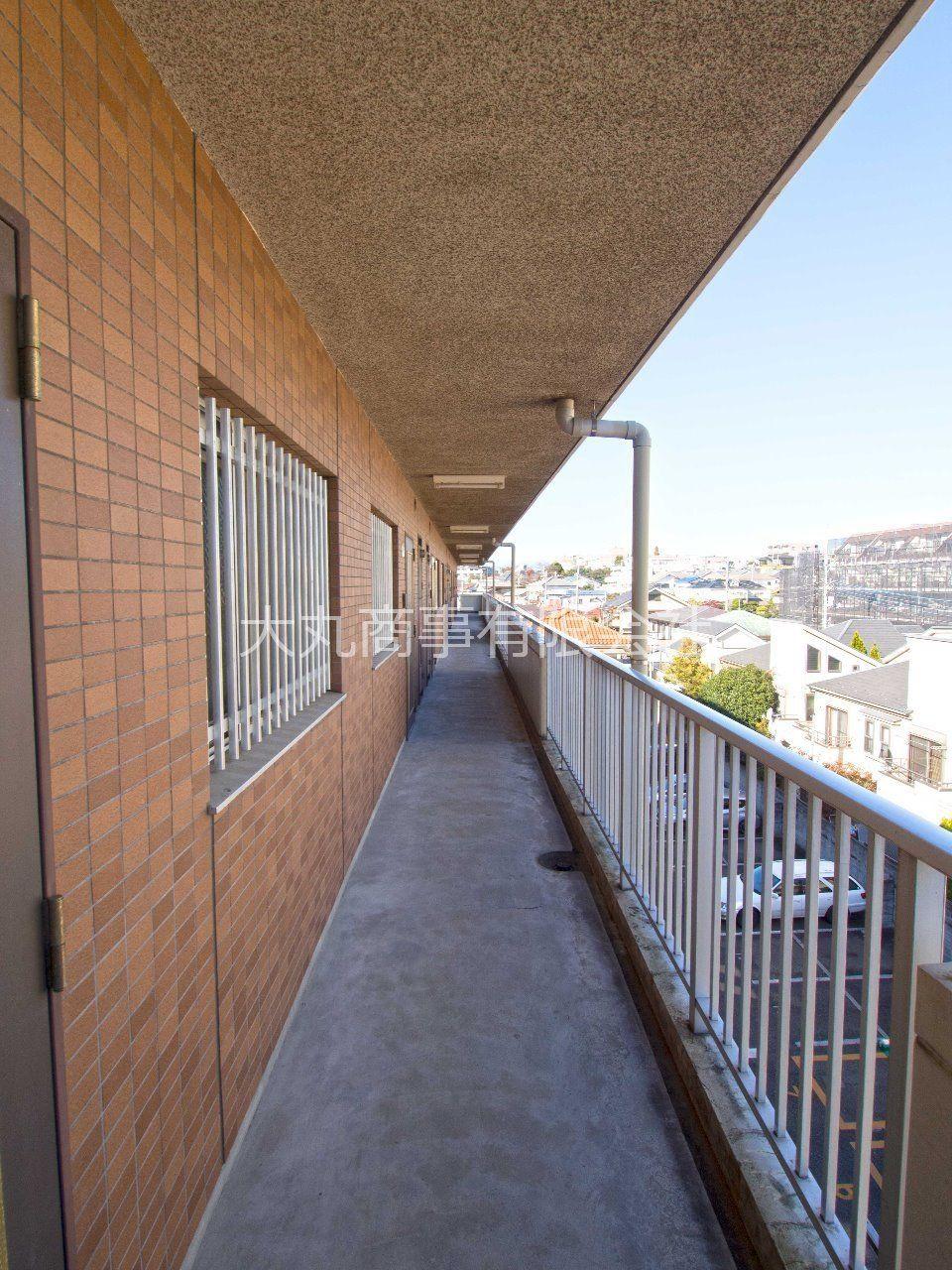4階の共用廊下