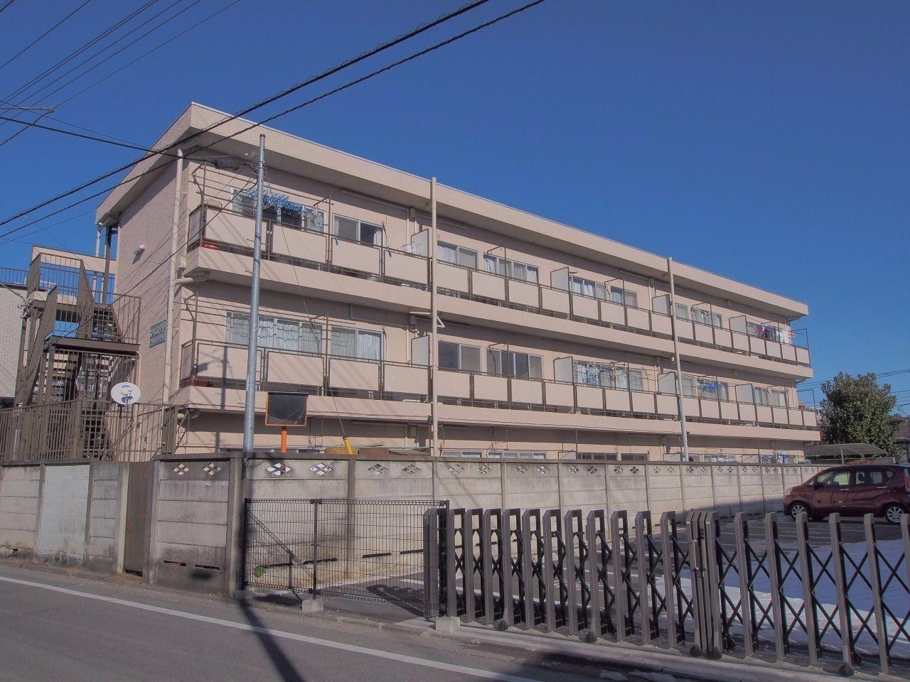 立川駅から徒歩10分の便利な立地