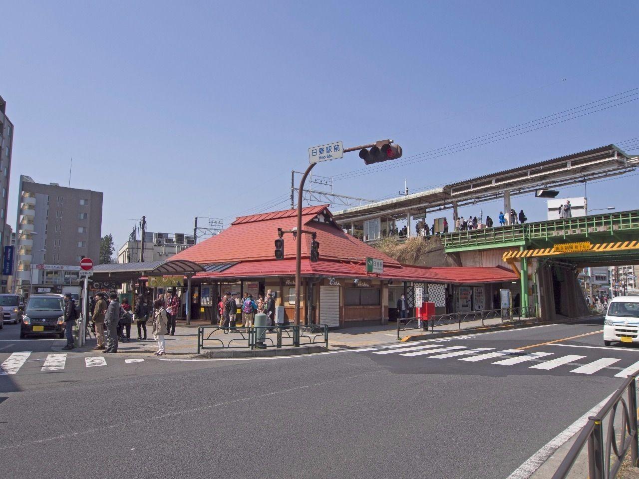 新撰組、土方歳三出身地である日野市を代表する駅