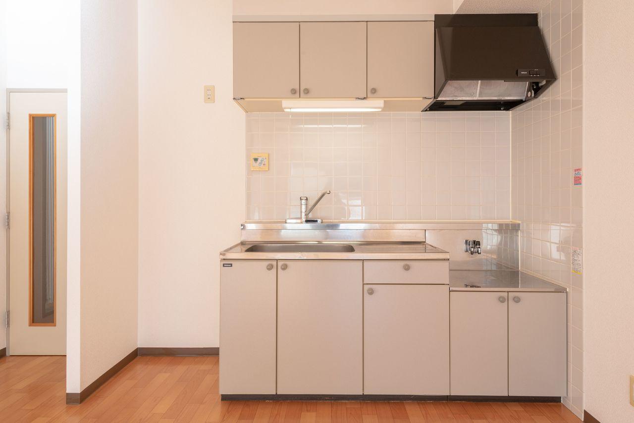 冷蔵庫スペースも確保されています