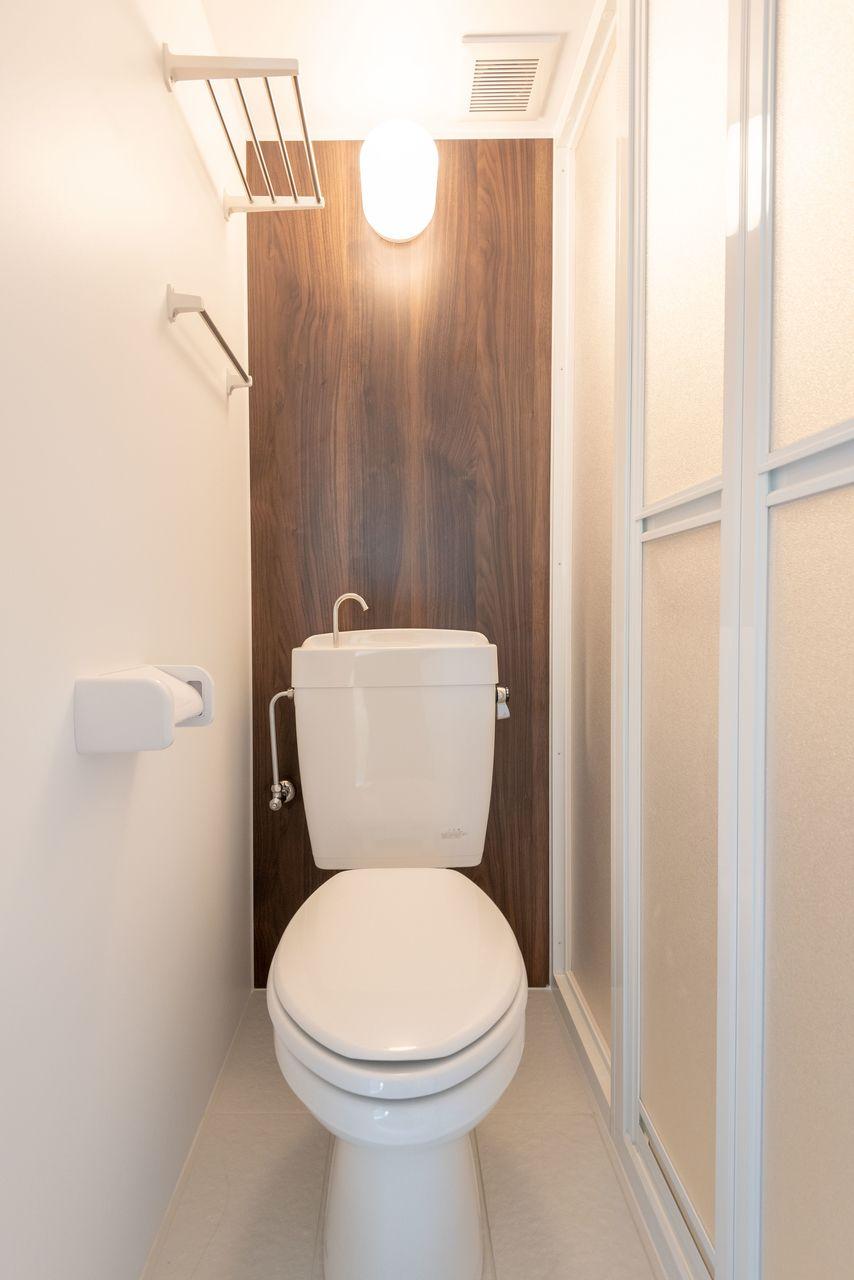 ホテルライクな雰囲気のトイレ