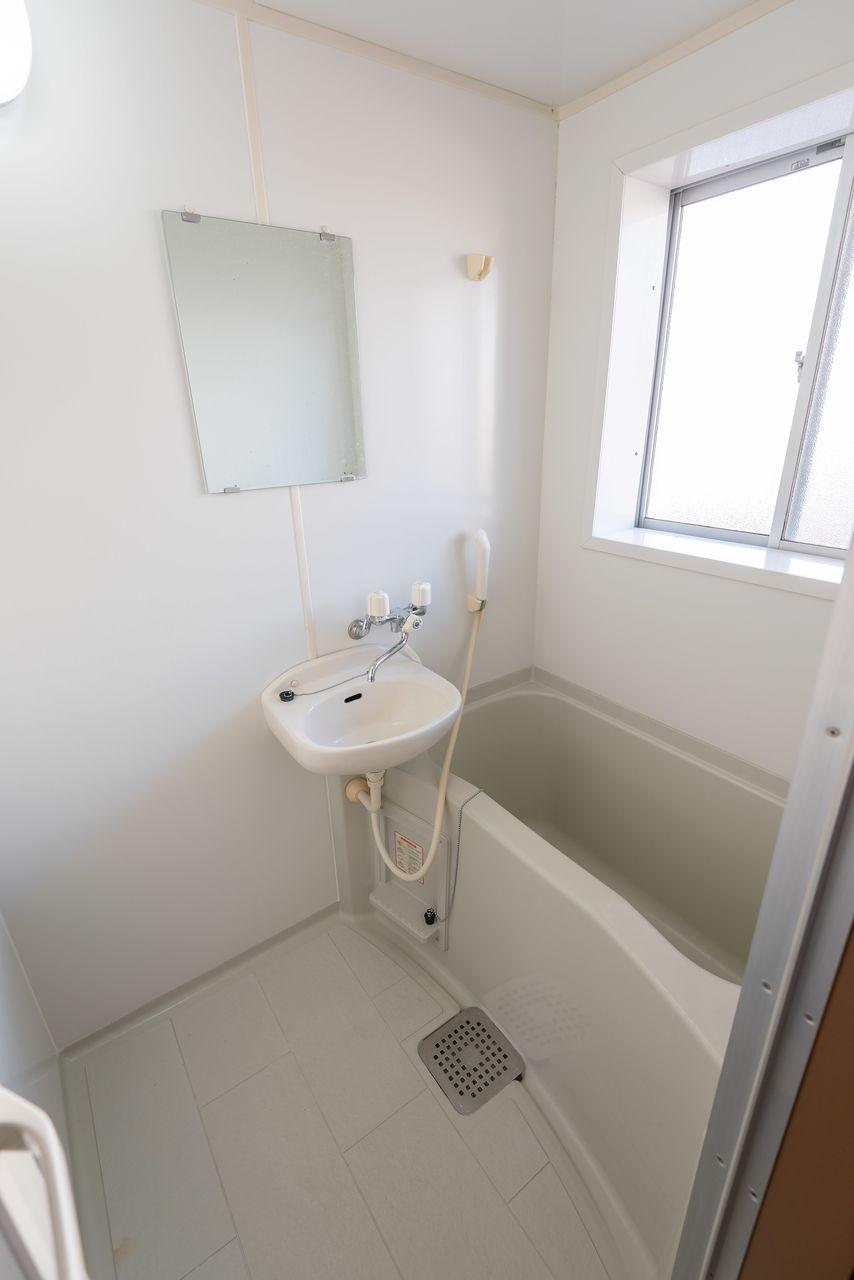 換気のしやすい窓のある浴室