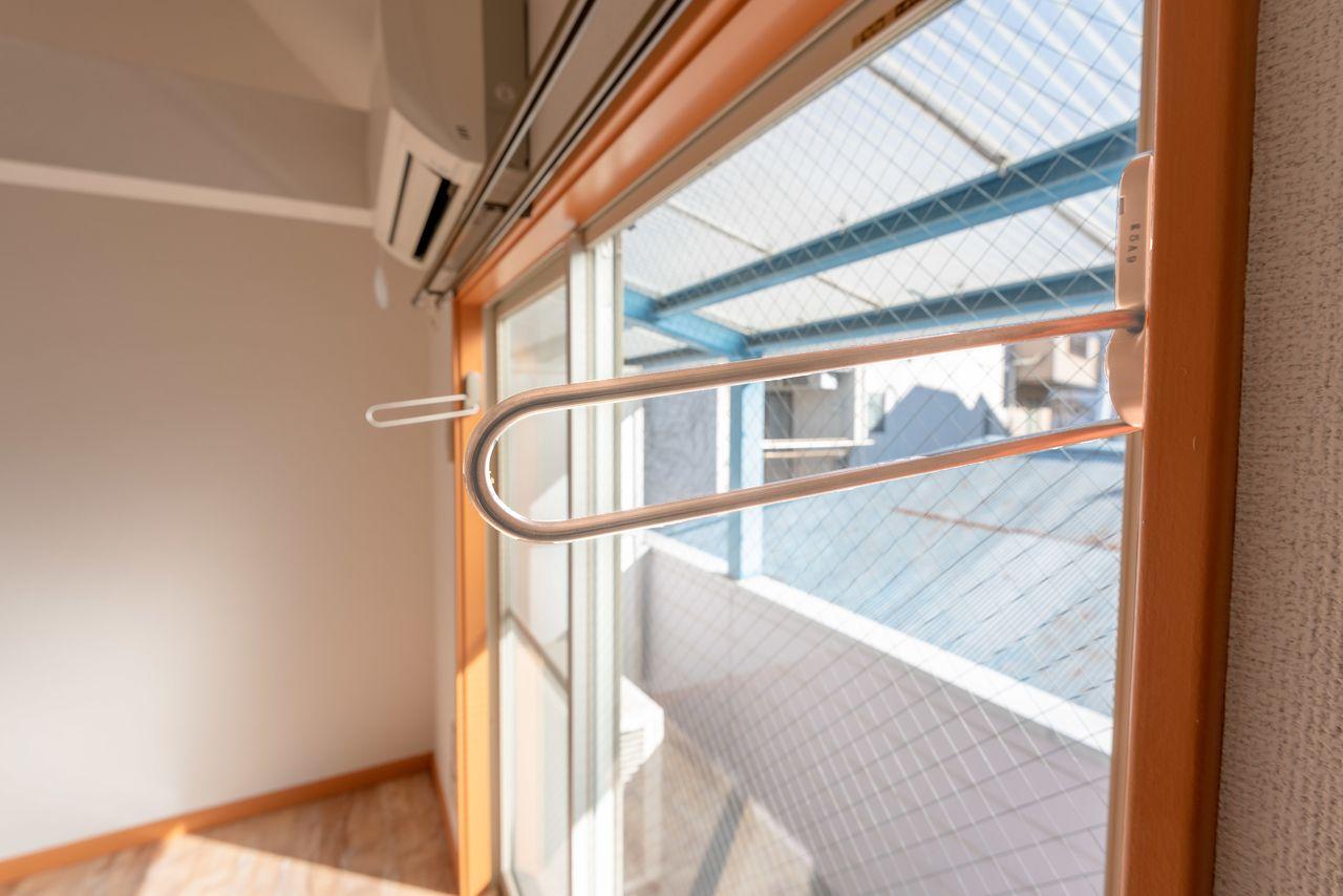 陽当たりの良い窓際を有効活用