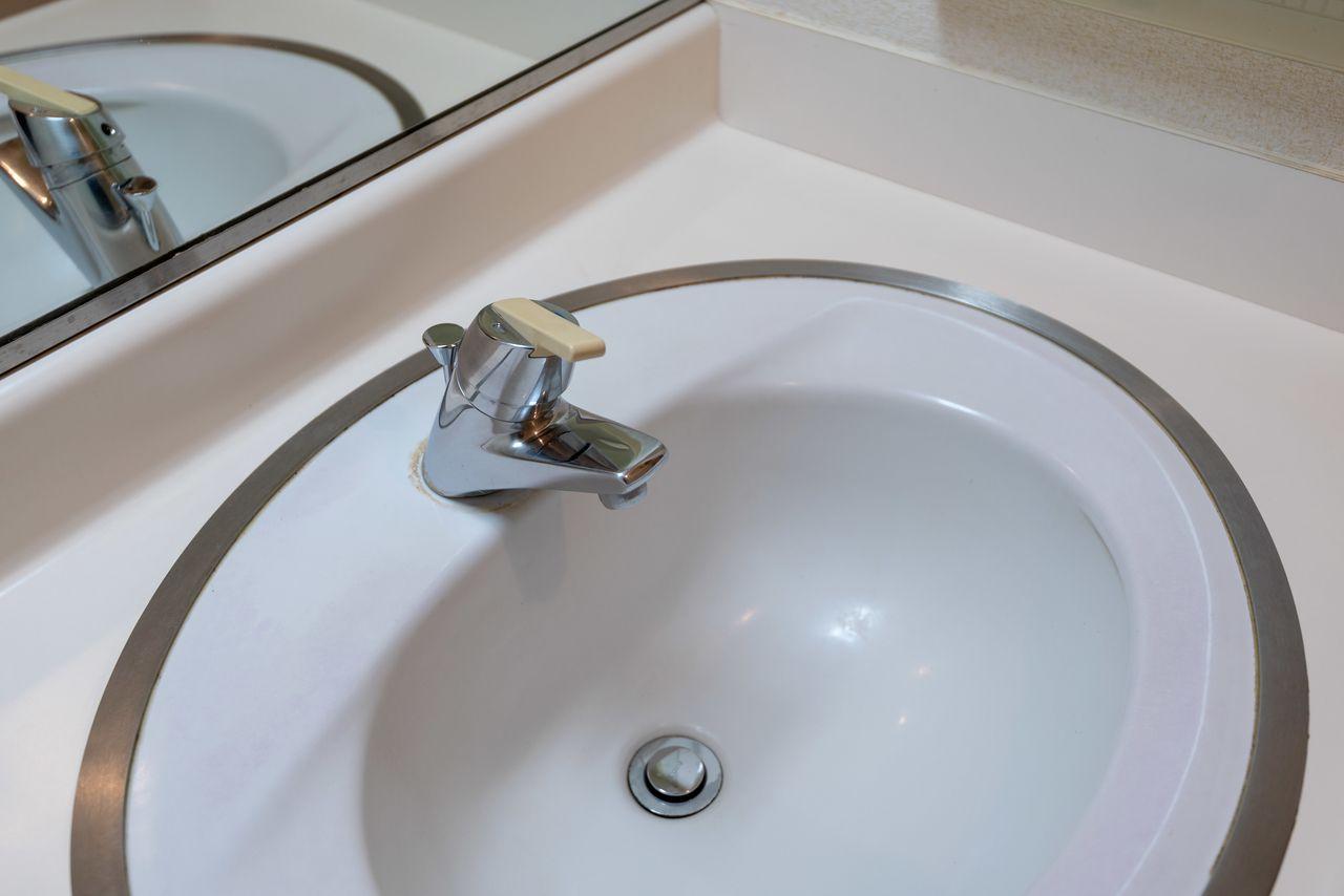 ワンレバー式水栓で使い勝手の良好