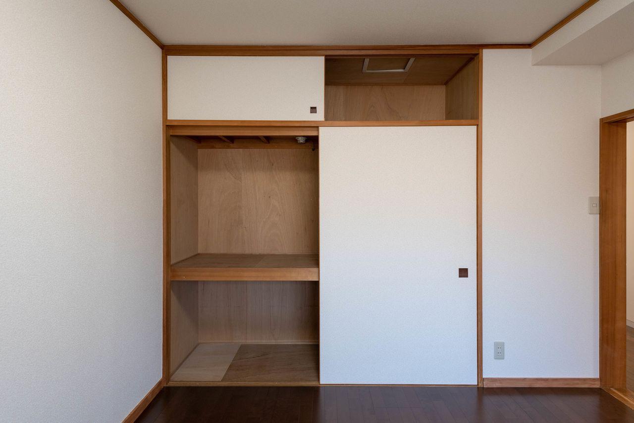 天袋付の押入は大容量でお部屋も片付きそう