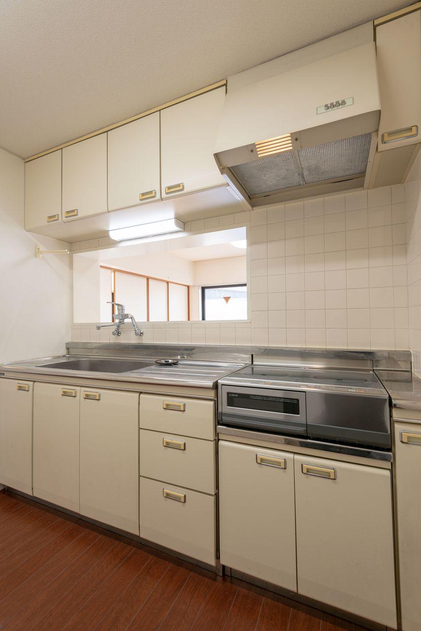 作業のしやすい広さのあるキッチン