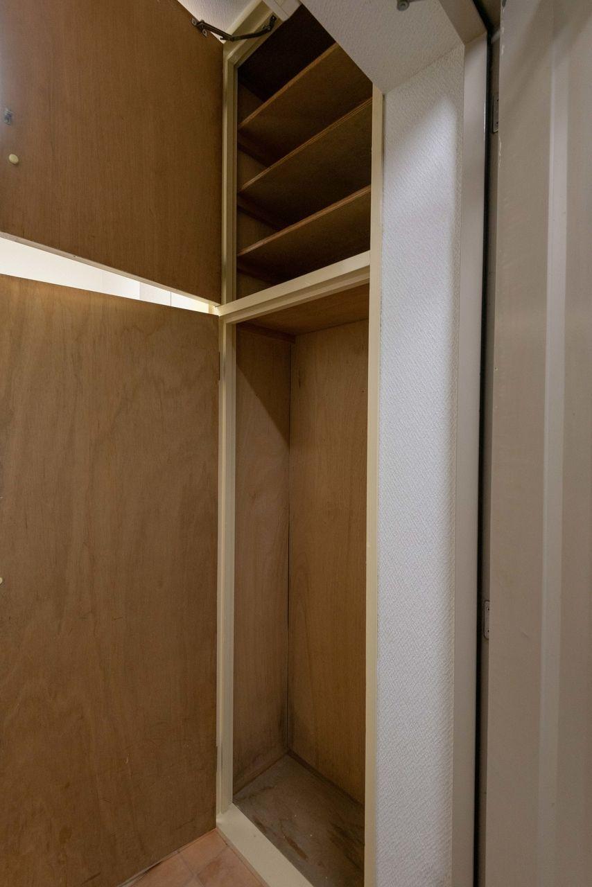 便利な天井高の玄関収納